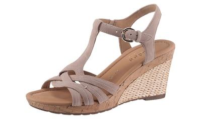 Gabor Sandalette »MILANO«, in Weite G (=weit) kaufen