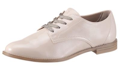 Tamaris Schnürschuh »YANIKE«, im glänzenden Look kaufen