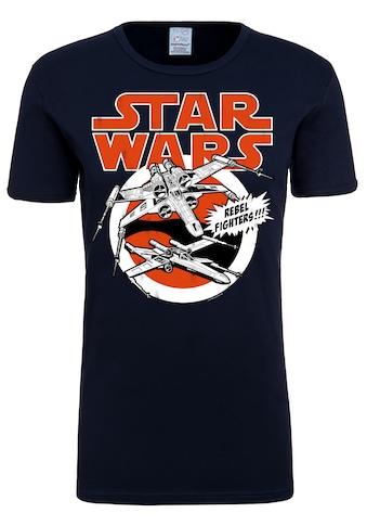 LOGOSHIRT T-Shirt »X-Wings«, mit lizenziertem Originaldesign kaufen