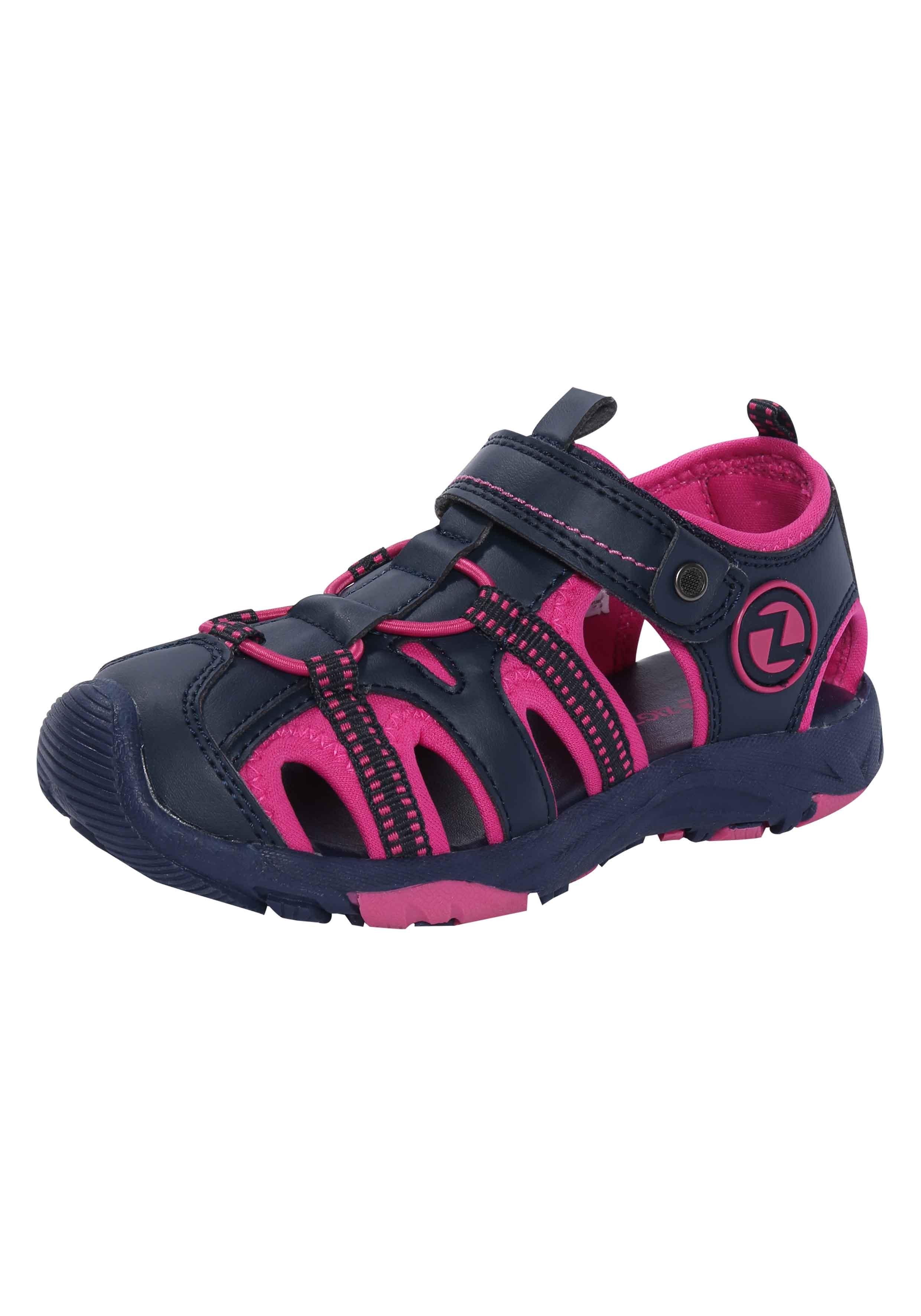 ZIGZAG Sandalen mit praktischem Klettverschluss Hayden | Schuhe > Sandalen & Zehentrenner > Sandalen | Pink | Textil | Zigzag