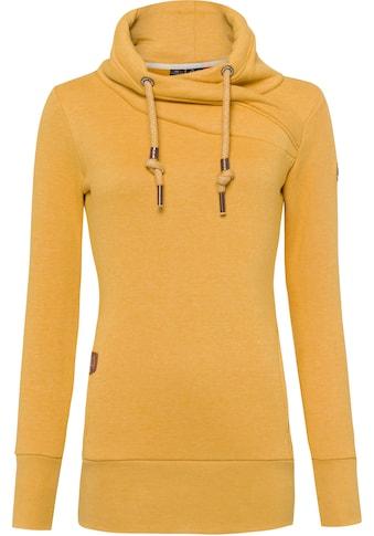 Ragwear Sweater »NESKA«, mit extra breiten Rippbündchen kaufen
