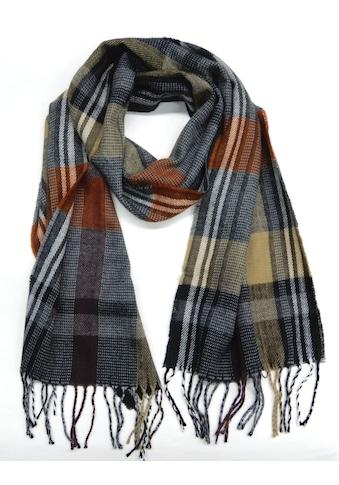 Chaplino Schal, mit zeitlosem Karo-Muster kaufen