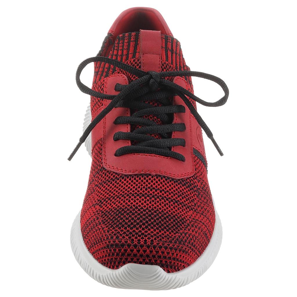 Rieker Slip-On Sneaker, in melierter Optik