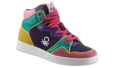 United Colors of Benetton Plateausneaker »ROD CORDUROY«, in farbenfroher Optik kaufen