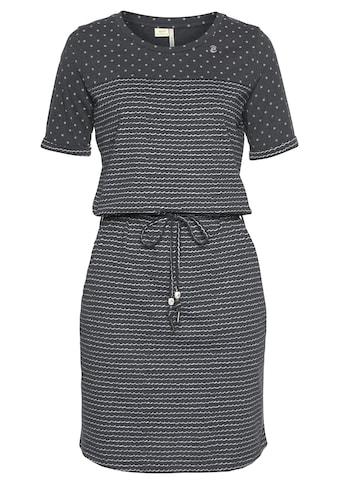Ragwear Shirtkleid »NUGGIE«, Streifen-Design trifft auf Dots kaufen