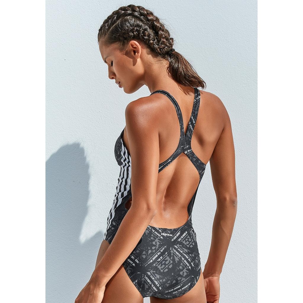 adidas Performance Badeanzug, mit sportlichem Druck
