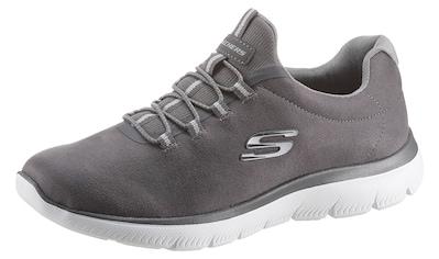Skechers Slip-On Sneaker »SUMMITS - ITZ BAZIK«, mit gepolstertem Ferseneinstieg kaufen