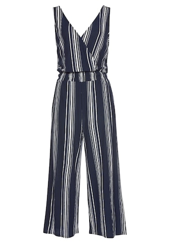 LASCANA Culotte-Overall, aus strukturierter Ware kaufen