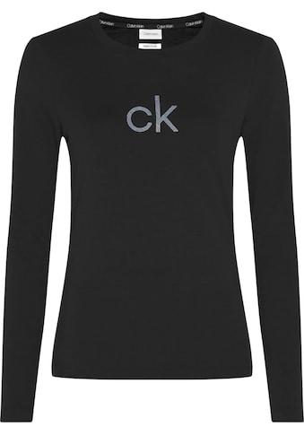 Calvin Klein Kurzarmshirt »SS CK LUREX LOGO TEE« kaufen