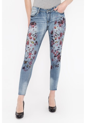 Blue Monkey Skinny - fit - Jeans »Honey 7111« kaufen