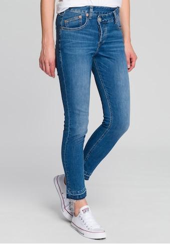 Herrlicher Slim - fit - Jeans »MAZE SLIM CROPPED« kaufen