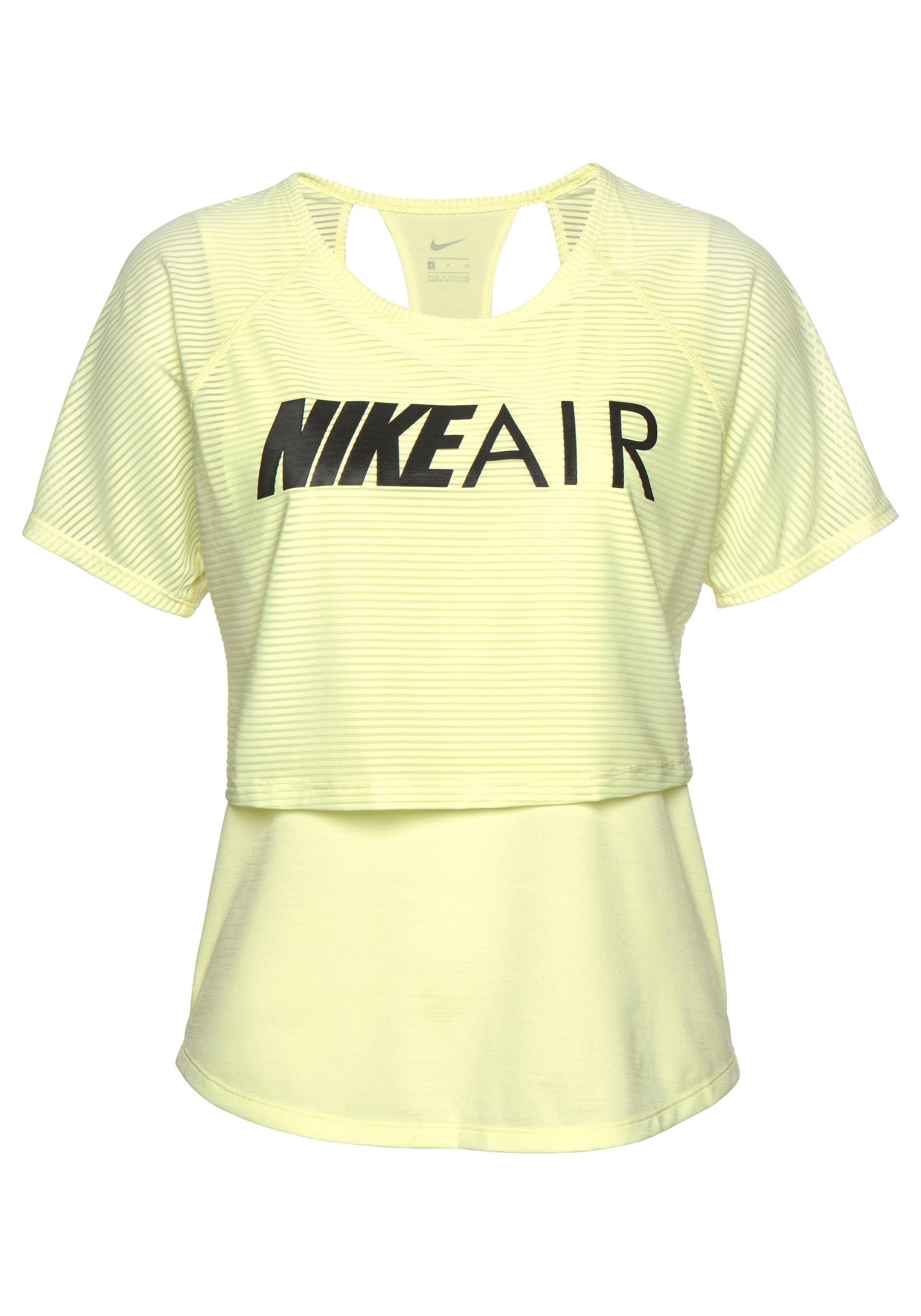 Nike Laufshirt »WOMEN NIKE AIR TOP SHORTSLEEVE GX«