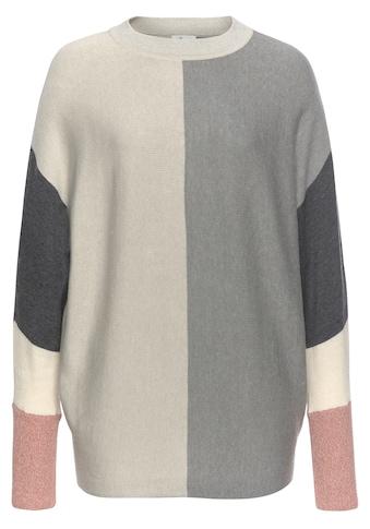 Boysen's Rundhalspullover, mit modischem Pastel-Colorblocking kaufen