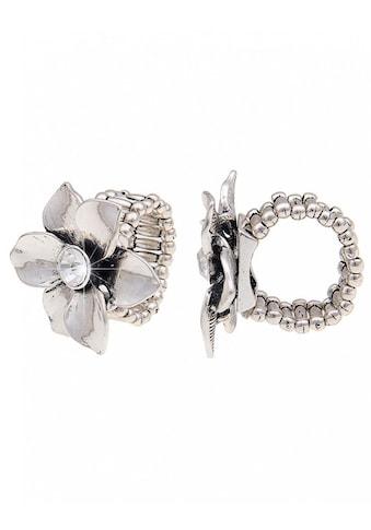 leslii Modeschmuck - Ring mit Glanz - Blume kaufen