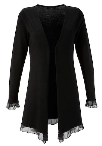 Aniston SELECTED Cardigan, mit Chiffon-Abschlüssen kaufen