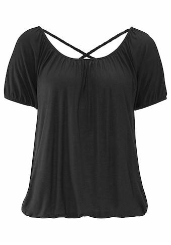 Buffalo Strandshirt, mit geflochtenen Bändern kaufen
