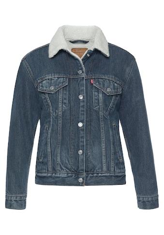 Levi's® Jeansjacke »EX-Boyfriend Sherpa«, mit wärmendem Teddy-Futter kaufen