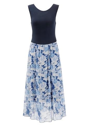 Aniston SELECTED Sommerkleid, im femininen Rosendruck - NEUE KOLLEKTION kaufen