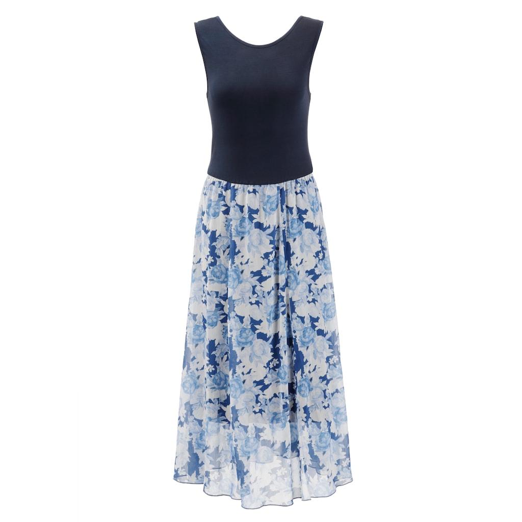 Aniston SELECTED Sommerkleid, im femininen Rosendruck - NEUE KOLLEKTION