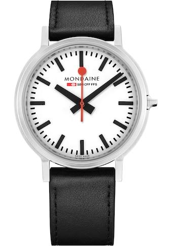 MONDAINE Schweizer Uhr »stop2go - BackLight, MST.4101B.LB« kaufen