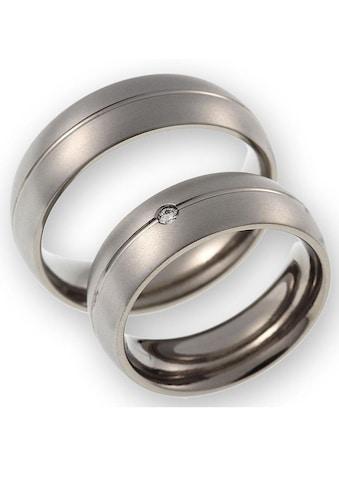 CORE by Schumann Design Trauring »20006170-DR, 20006170-HR, ST048.02«, Made in Germany - wahlweise mit oder ohne Diamant kaufen
