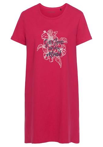 Schiesser Nachthemd, mit floralem Frontruck kaufen