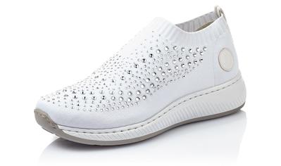 Rieker Slip-On Sneaker, mit Strass-Stein-Verzierung kaufen