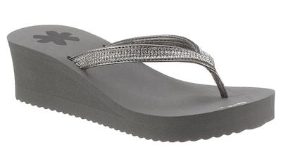 Flip Flop Zehentrenner »glam*hi«, mit weichem Zehensteg kaufen