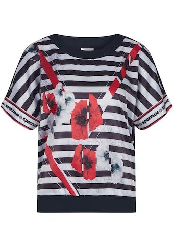 Sportalm Kitzbühel Blusenshirt, mit Streifen und Blumendruck kaufen