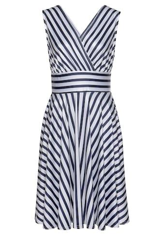LASCANA Sommerkleid, mit Streifenprint kaufen