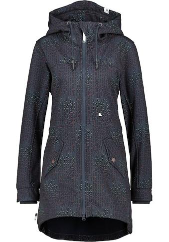 Alife & Kickin Outdoorjacke »AudreyAK«, Raincoat in tollen leuchtenden Farben mit Alloverprint kaufen