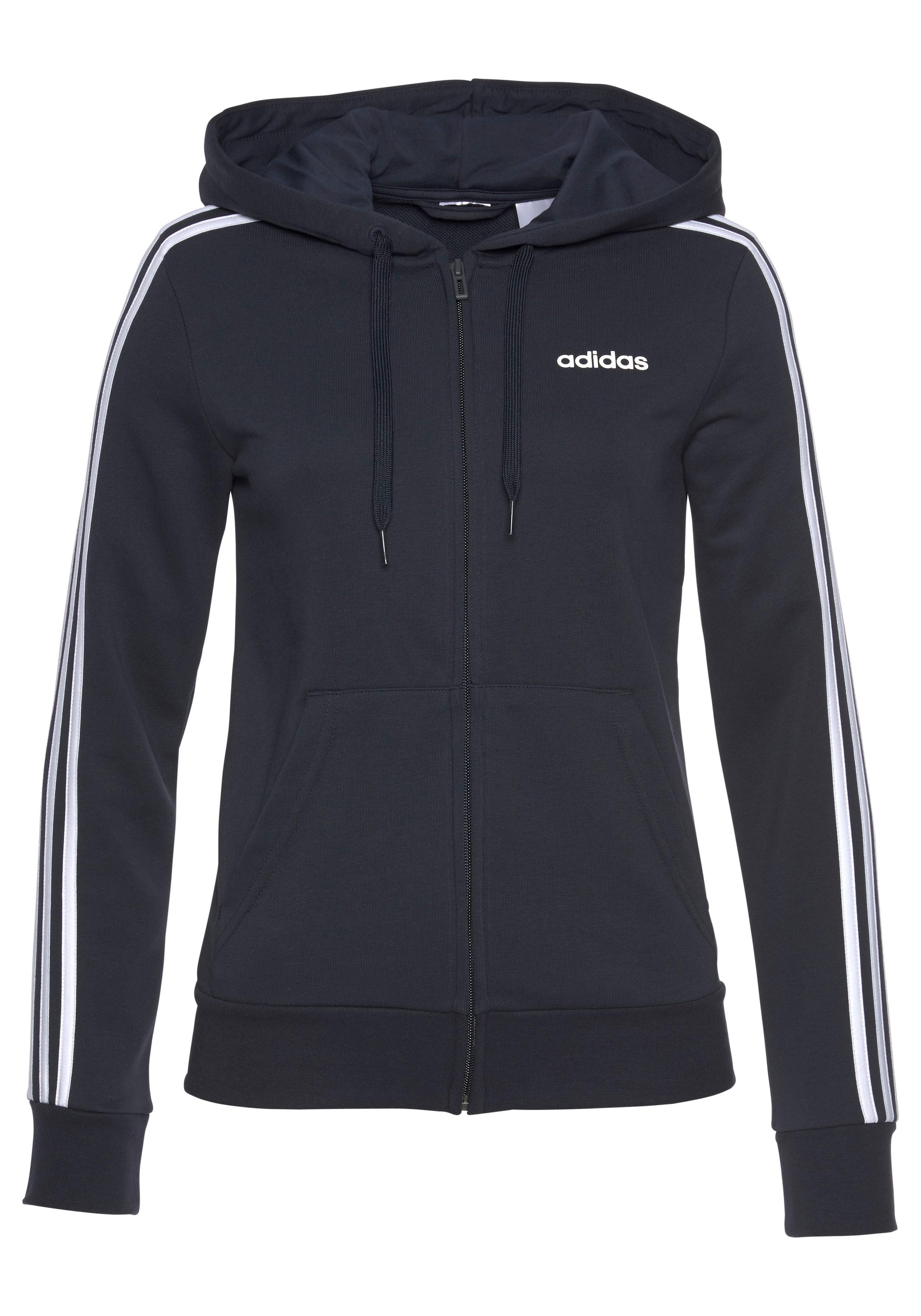 adidas Performance Jungen Kapuzenjacke Essentials Logo Full Zip Hoodie
