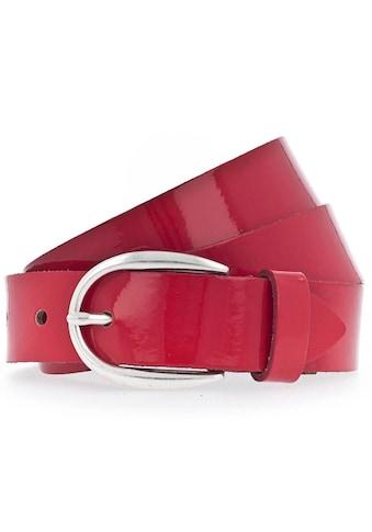 Vanzetti Ledergürtel, Edles Lack-Design kaufen