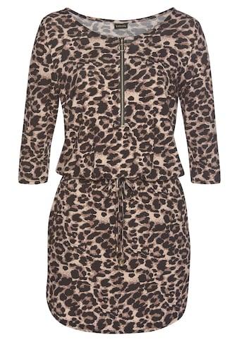 LASCANA Strandkleid, mit Animalprint kaufen