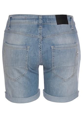 Please Jeans Jeansbermudas »P88A«, coole Jeansshorts mit dekorativer Knopfleiste und... kaufen
