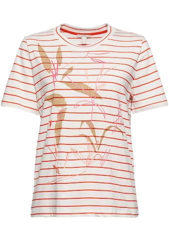 Esprit T-Shirt, mit schönem Druckmotiv kaufen
