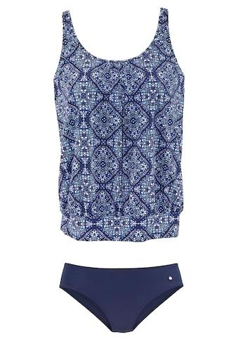 s.Oliver Beachwear Oversize-Tankini, im Rauten-Design kaufen