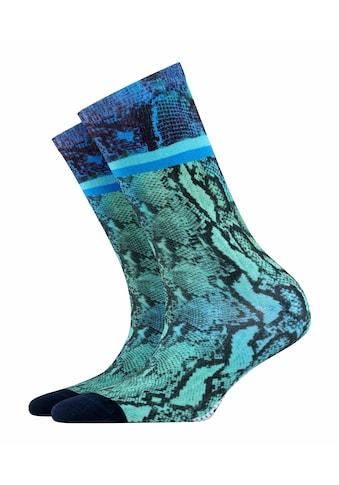 Burlington Socken Snaky Print (1 Paar) kaufen