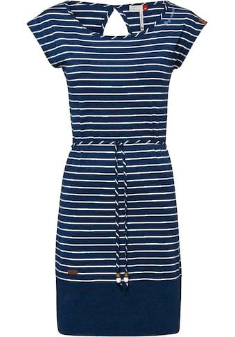 Ragwear Plus Jerseykleid »SOHO STRIPES PLUS«, begeistert mit kleinem Cut Out im Nacken kaufen