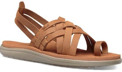 Teva Sandale »Voya Strappy Leather« kaufen