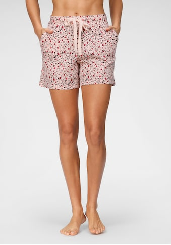 Schiesser Pyjamashorts, mit Tunnelzugbund und Alloverdruck kaufen