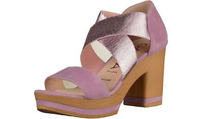 GADEA High-Heel-Sandalette »Leder/Textil« kaufen