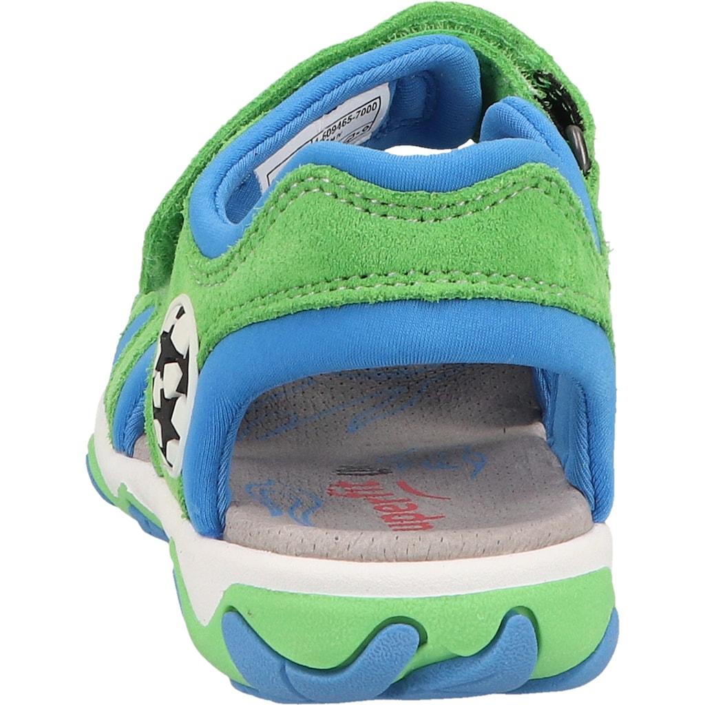Superfit Sandale »Veloursleder/Textil«