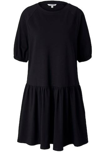 TOM TAILOR Denim Jerseykleid, mit elastischen Ballonärmel kaufen