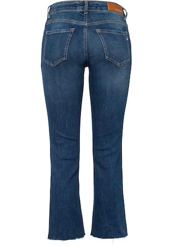 Replay 7/8-Jeans »Faaby«, Coinpocket mit Glitzerstein-Nieten kaufen