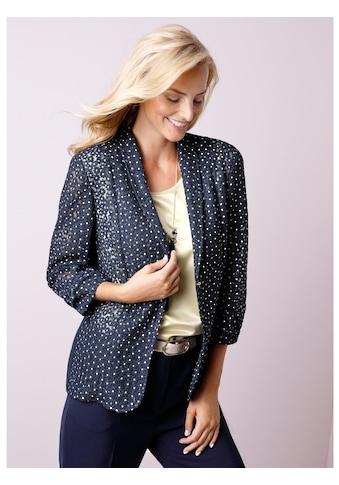 Mona Blusenjacke mit floraler Stickerei kaufen