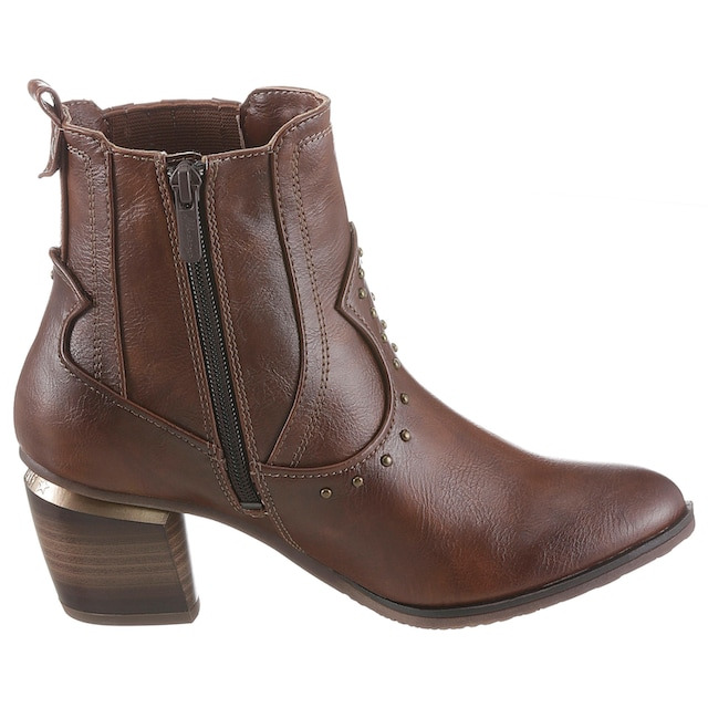 Mustang Shoes Cowboy Stiefelette