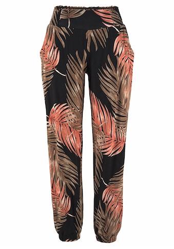 LASCANA Strandhose, mit Palmenblätterdruck kaufen
