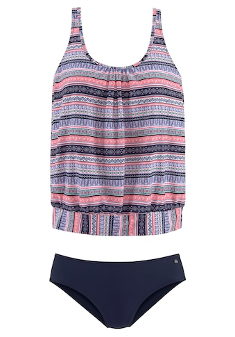 s.Oliver Beachwear Oversize-Tankini, mit schönem Bordürendruck kaufen
