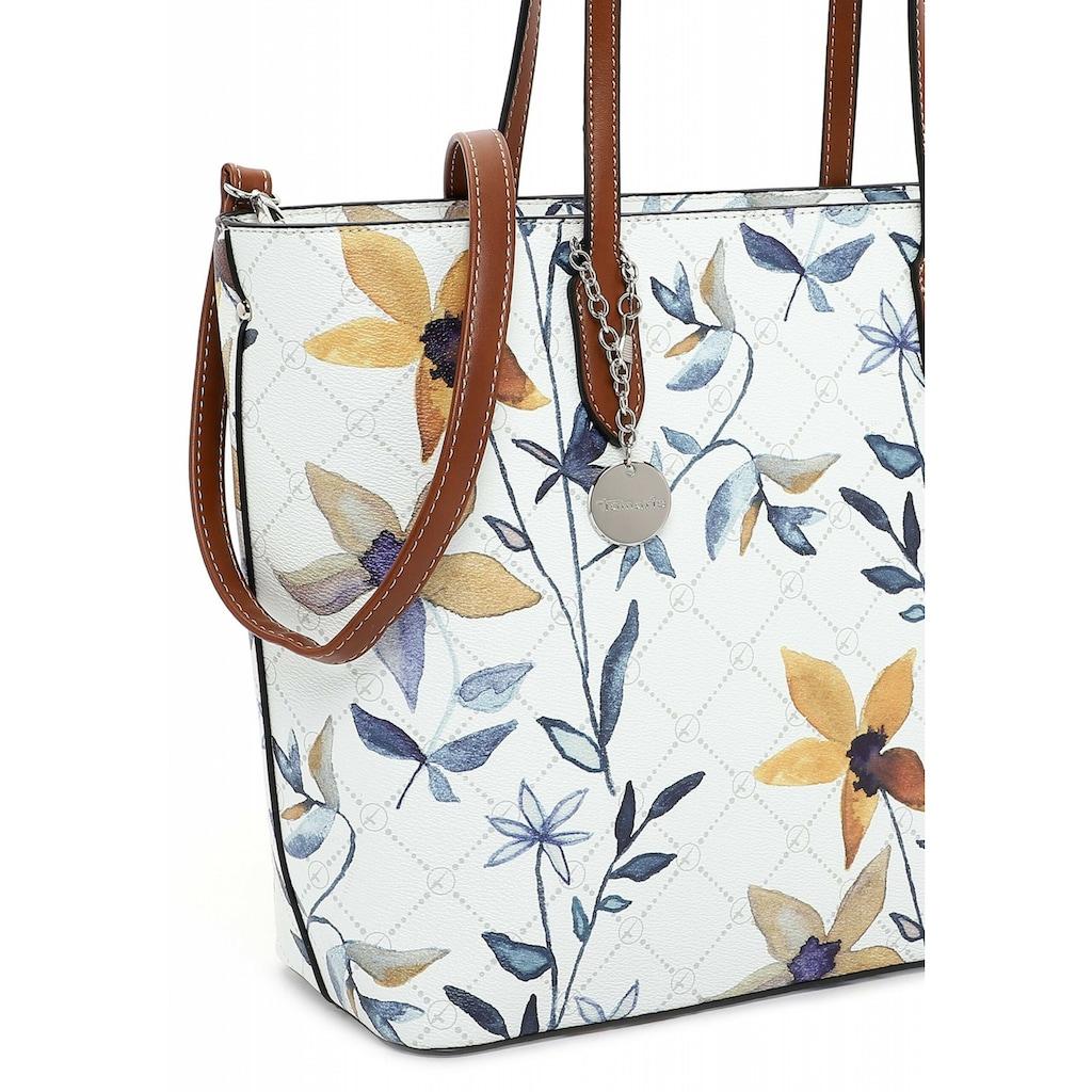 Tamaris Shopper »Anastasia Flower«, mit modischem Blumen Print